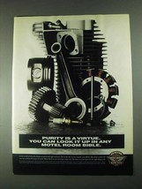 1996 Harley-Davidson Genuine Motor Parts Ad - Purity - $14.99