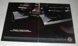 1996 Harley-Davidson Genuine Motor Accessories Ad - $14.99
