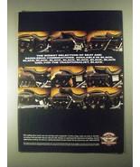 1997 Harley-Davidson Seats & Saddlebags Ad - Selection - $14.99