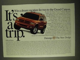 1998 Dodge Durango Ad - It's a Trip - $14.99