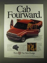 1998 Dodge Ram 1500 Quad Cab Pickup Truck Ad - $14.99