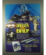 1999 Arlen Ness Motorcycle Parts Ad - Bagger Gone Bad - $14.99