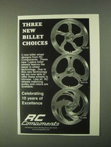 1999 RC Components Wheels Ad - Fluid, Regal, Slash - $14.99