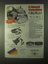 1999 RevTech 6-Speed Overdrive Ad! - $14.99