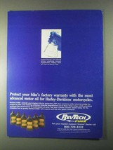 1999 RevTech Pure Motor Oil Ad - Protect Warranty - $14.99