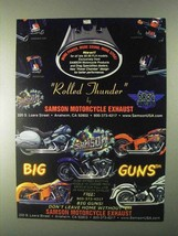 1999 Samson Exhaust Systems Ad - Rolled Thunder - $14.99