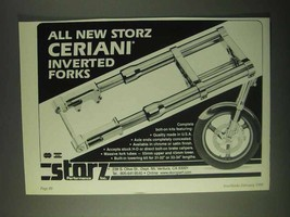 1999 Storz Ceriani Inverted Forks Ad - $14.99