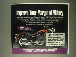 1999 Supertrapp Exhaust Ad - Margin of Victory - $14.99