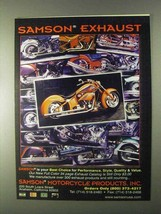 1999 Samson Exhaust Systems Ad - $14.99