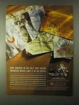 1999 Suzuki Intruder 1500LC Motorcycle Ad - $14.99