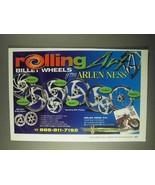 2000 Arlen Ness Rolling Billet Wheels Ad! - $14.99