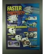 2001 Arlen Ness Lighting Accessories Ad - Faster Than - $14.99
