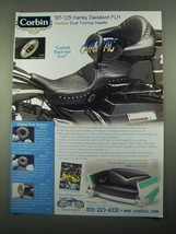 2003 Corbin Heated Dual Touring Saddle Ad - NICE - $14.99