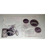 2004 Arlen Ness Custom Drag Pipes Ad - Stacker C-Cut + - $14.99