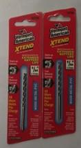 "Vermont American 12736 9/64"" x 3"" XTEND Fractional Drill Bit 2-pcs - $2.72"