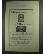 1892 Franco-American Soup and Royal Plum Pudding Ad - $14.99