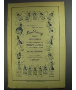 1892 Lundborg's Perfume Ad - For Holidays and All Days - $14.99