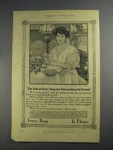 1912 Ivory Soap Ad - Uses Are Extraordinarily Varied - $14.99