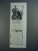 1913 Brunswick Baby Grand Billiard Table Ad - Our Boy - $14.99
