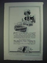 1913 Crystal Domino Sugar Ad - Purity is Chief Claim - $14.99