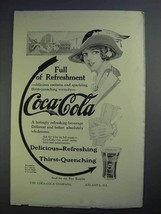 1913 Coca-Cola Soda Ad - Full of Refreshment - $14.99