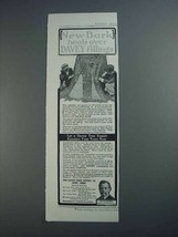 1913 Davey Tree Expert Ad - New Bark Heals Over - $14.99