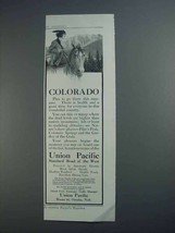 1913 Union Pacific Railroad Ad - Colorado - $14.99