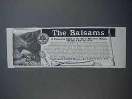 1913 The Balsams Hotel Ad! - $14.99