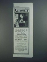 1913 Union Pacific Railroad Ad - California - $14.99