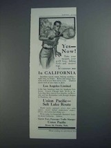 1913 Union Pacific Railroad Ad - Yes - Now! - $14.99