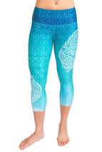 Inner Fire Goddess Capri Yoga Pant Large  (10) - $63.36