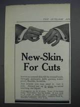 1913 New-Skin Antiseptic Ad - For Cuts - $14.99