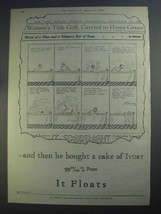 1926 Ivory Soap Ad - And Then He Bought a Cake - $14.99