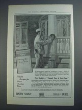 1915 Ivory Soap Ad - Helpful Recipes for House-Cleaning - $14.99