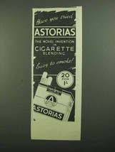 1939 State Express Astorias Cigaretes Ad - Tried? - $14.99
