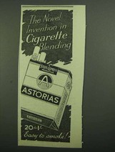 1939 State Express Astorias Cigaretes Ad - Novel - $14.99