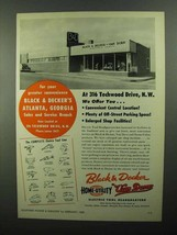 1950 Black & Decker Electric Tool Line Ad - $14.99