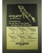 1968 Channellock No. 910 GripLock Pliers Ad - Portable - $14.99