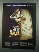 1968 Irving Trust Company Ad - Growth Part of Package - $14.99