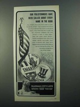 1968 Kansas City Life Ad - Called Every Name in Book - $14.99