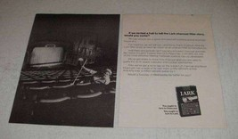 1968 Lark Cigarettes Ad - If We Rented A Hall to Tell - $14.99