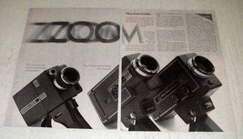 1968 Kodak Movie Camera Ad - M20, M7, M9 - $14.99