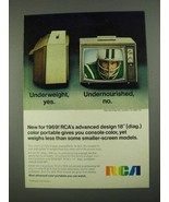 1968 RCA Candidate TV Ad - Underweight, Yes - $14.99