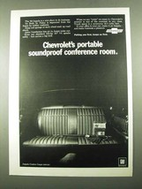 1969 Chevrolet Impala Custom Coupe Ad - Soundproof - $14.99