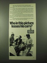 1969 Chrysler Leasing System Ad - Who in This Picture - $14.99