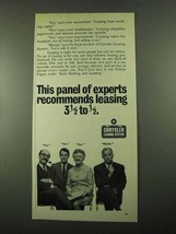 1969 Chrysler Leasing System Ad - Panel of Experts - $14.99