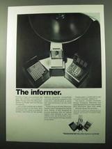 1969 Kodak Recordak Microfilm Miracode System Ad - $14.99