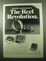 1969 Kodak Recordak Microfilm Motormatic Reader Ad - $14.99