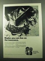 1969 Kodak Recordak Microfilm Systems Ad - Insurance - $14.99