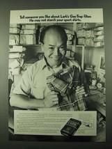 1969 Lark Cigarettes Ad - Tell Someone - $14.99